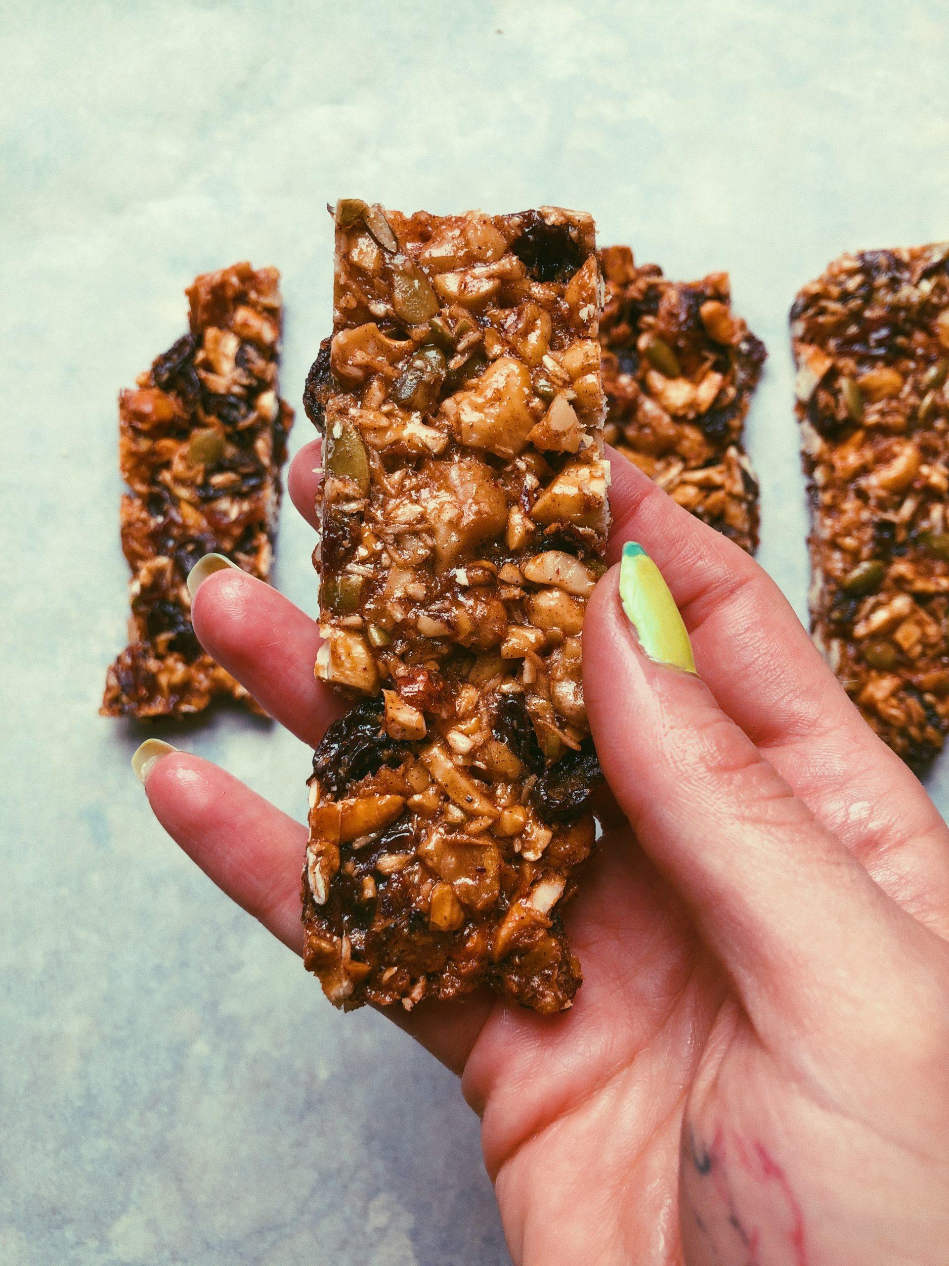 crunchy cashew granola bars scd diet