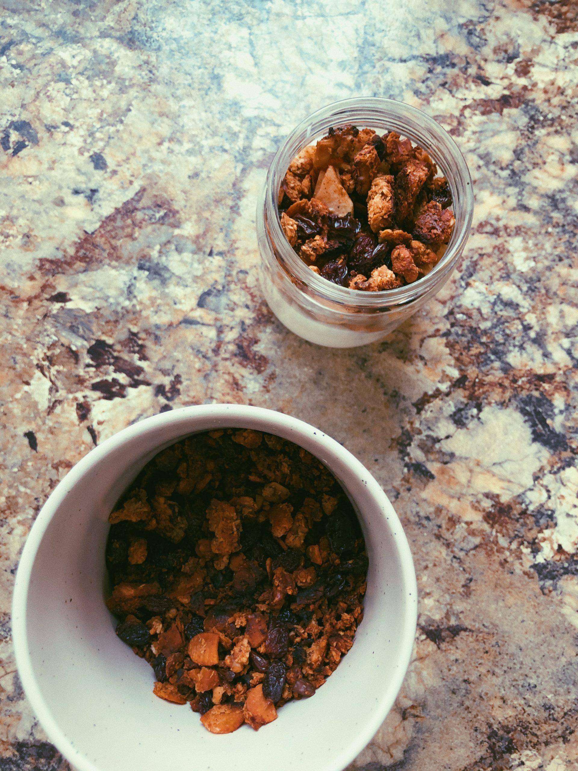 grain free, gluten free, scd legal granola