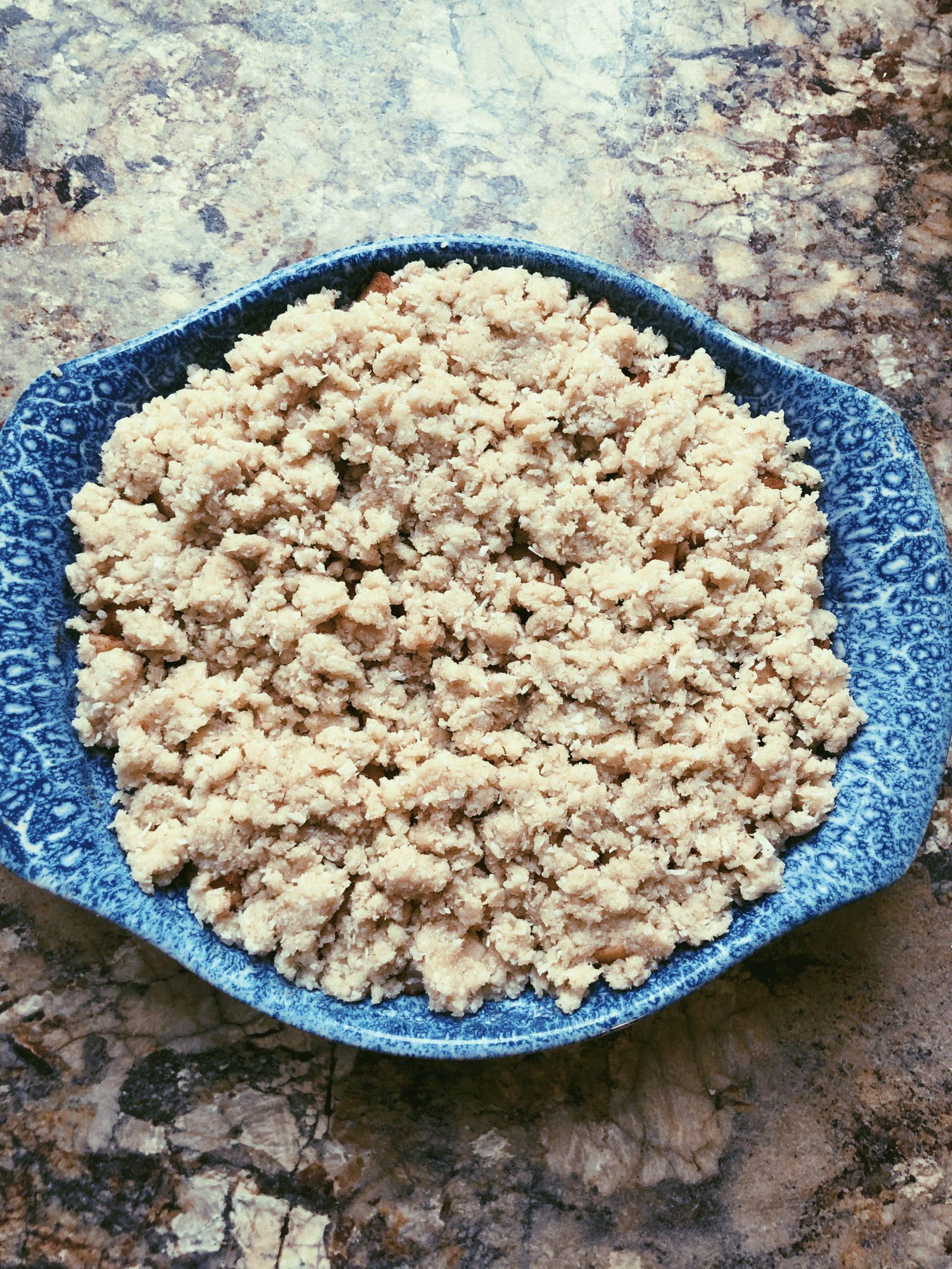 grain free gluten free apple crisp