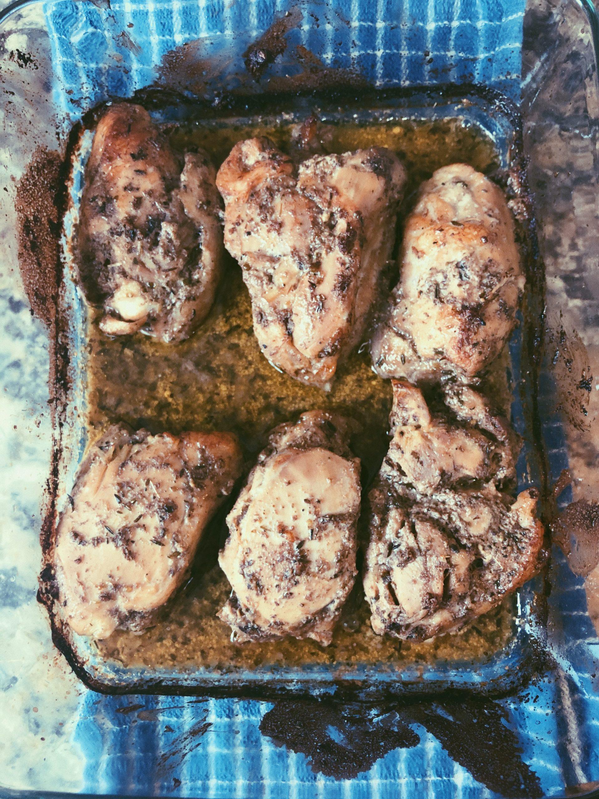 homemade shish taouk chicken