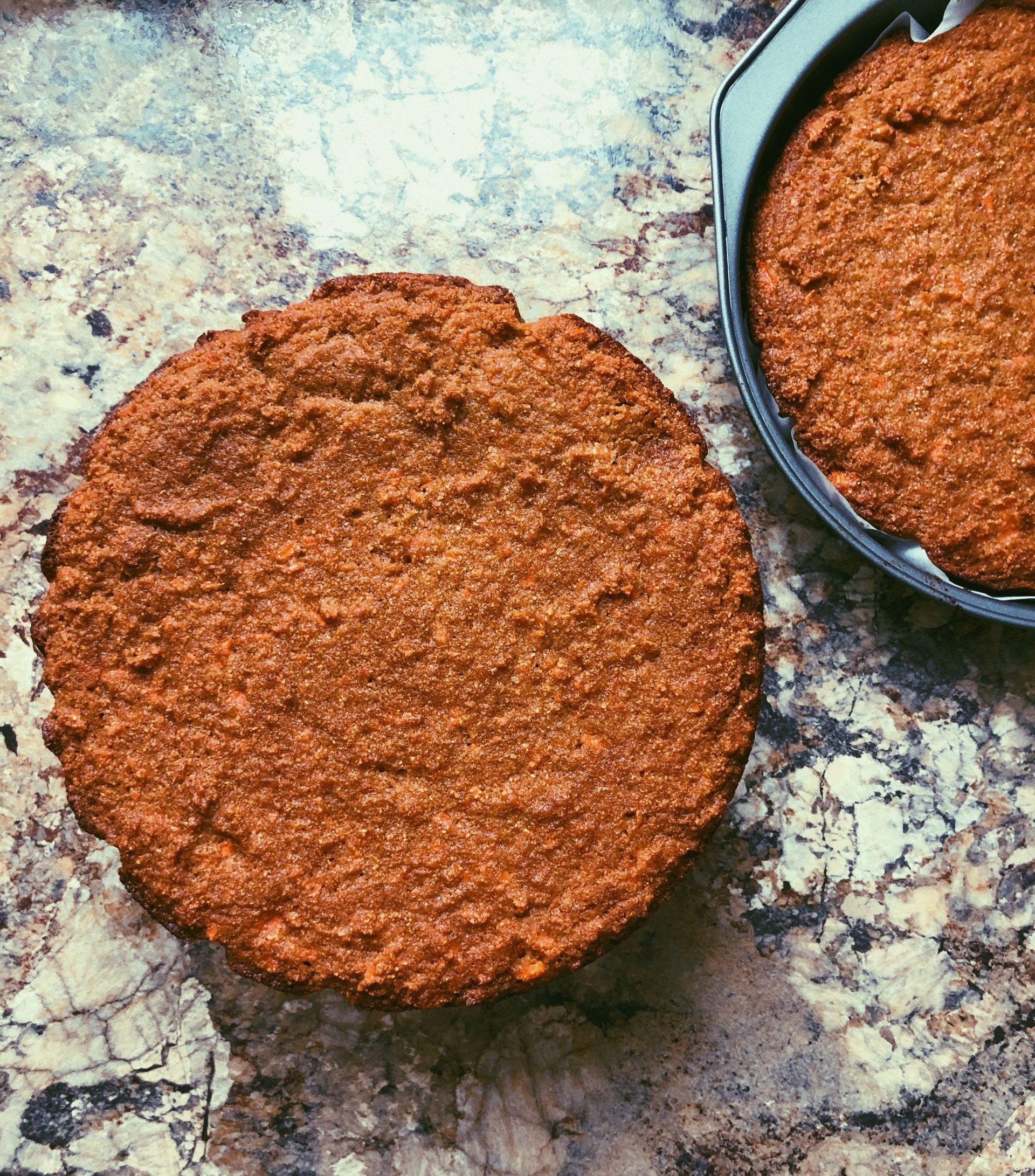 grain free scd legal carrot cake