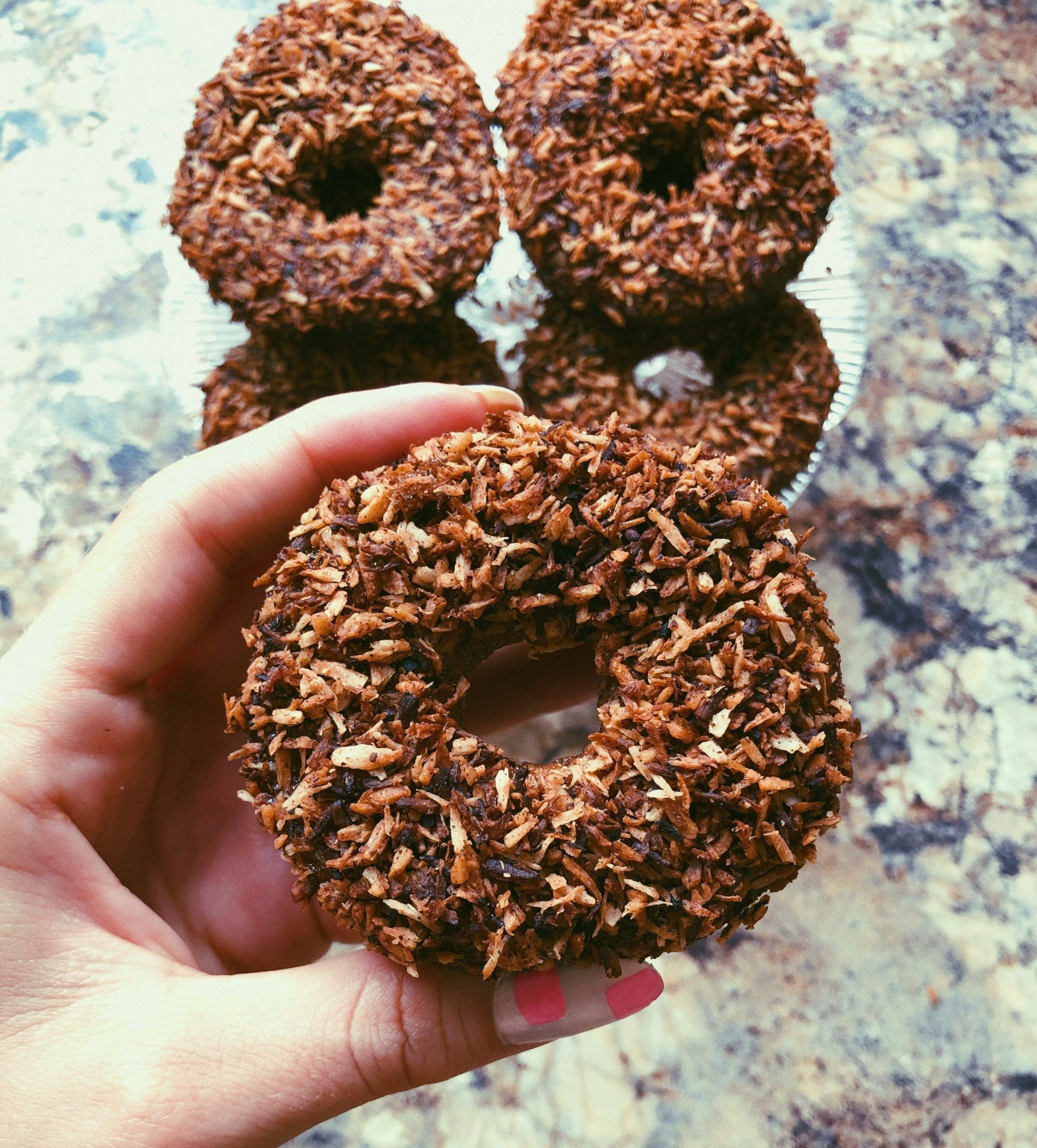 grain free ginger spice donuts scd diet