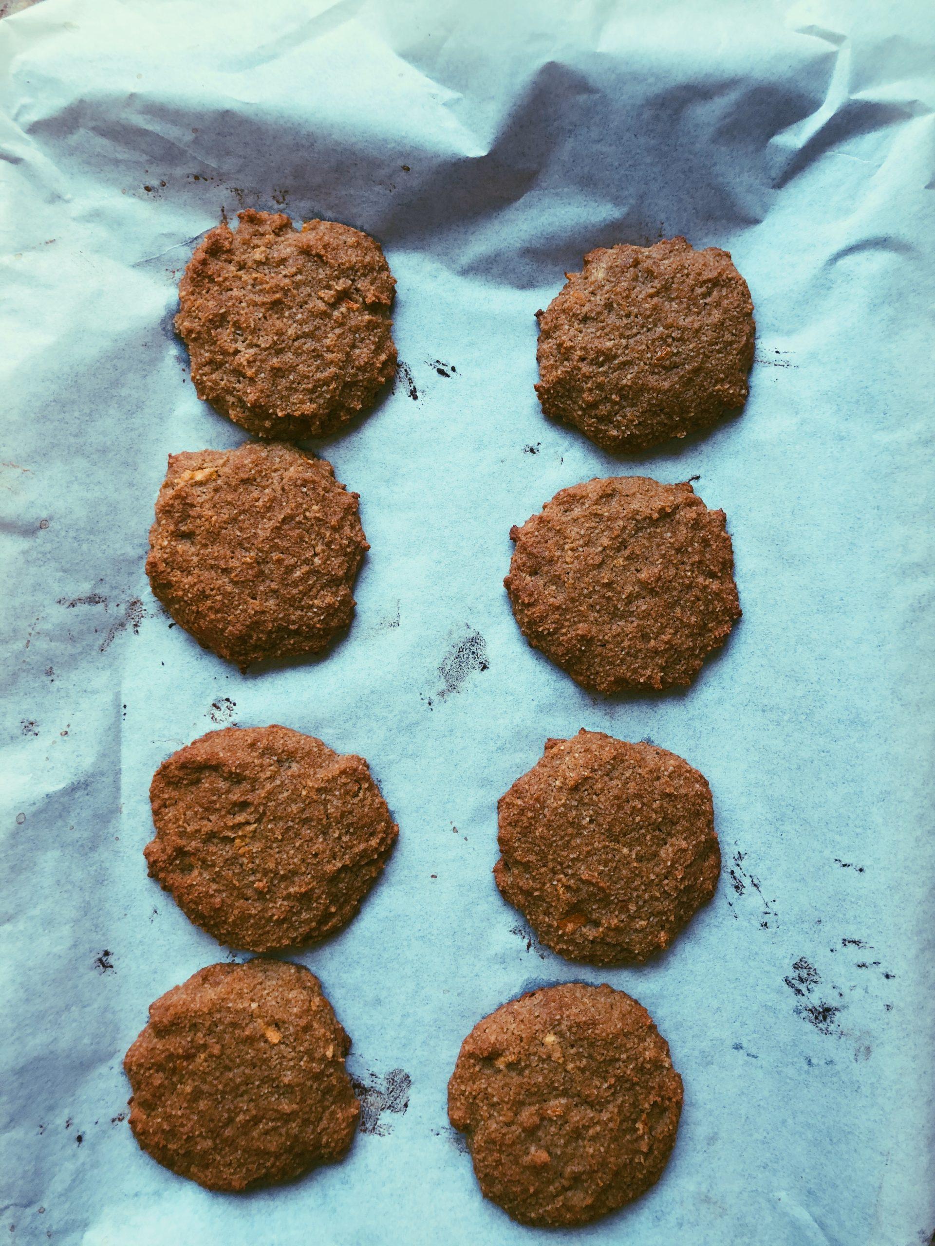 tangerine chai cookies scd diet
