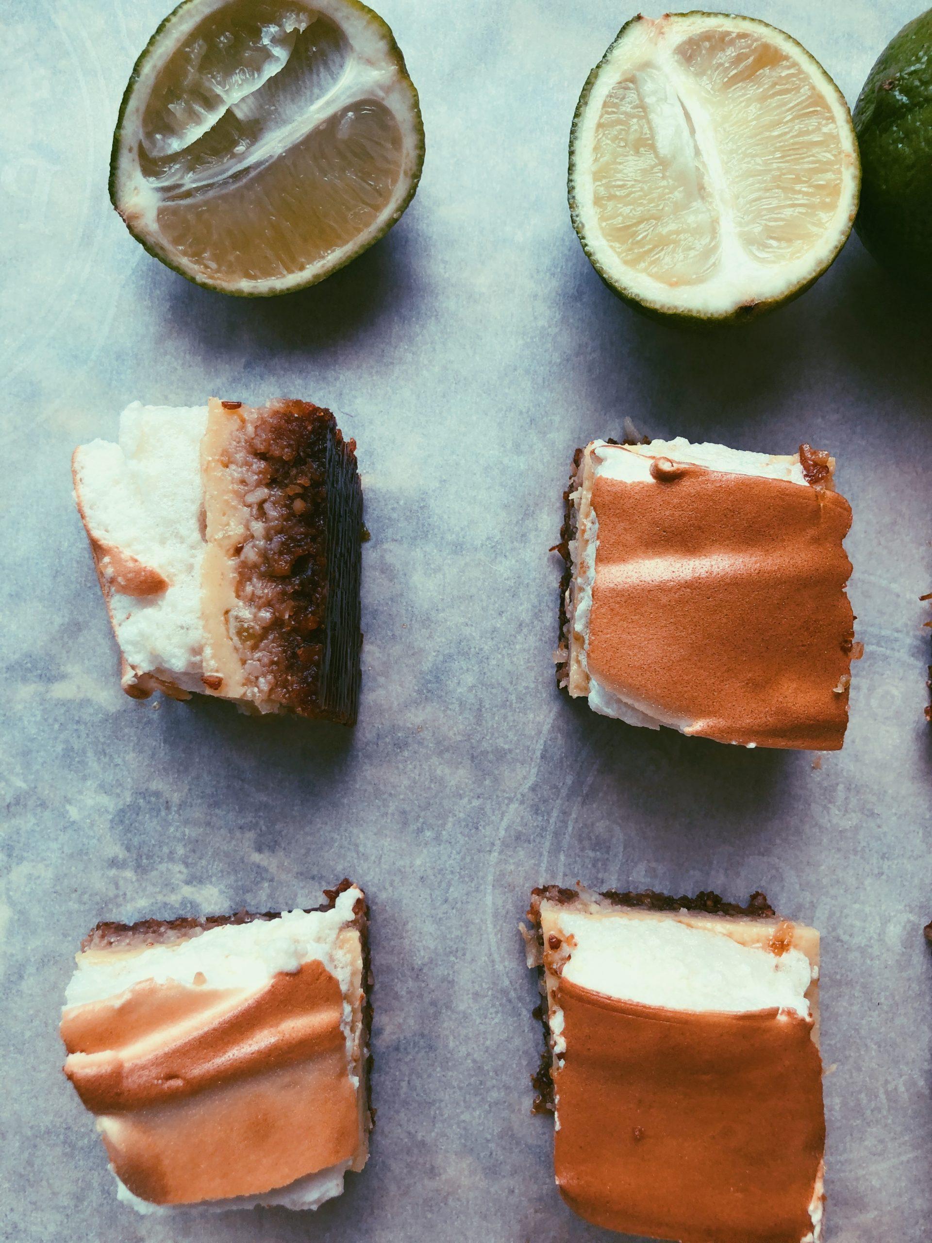 grain free key lime pie bars