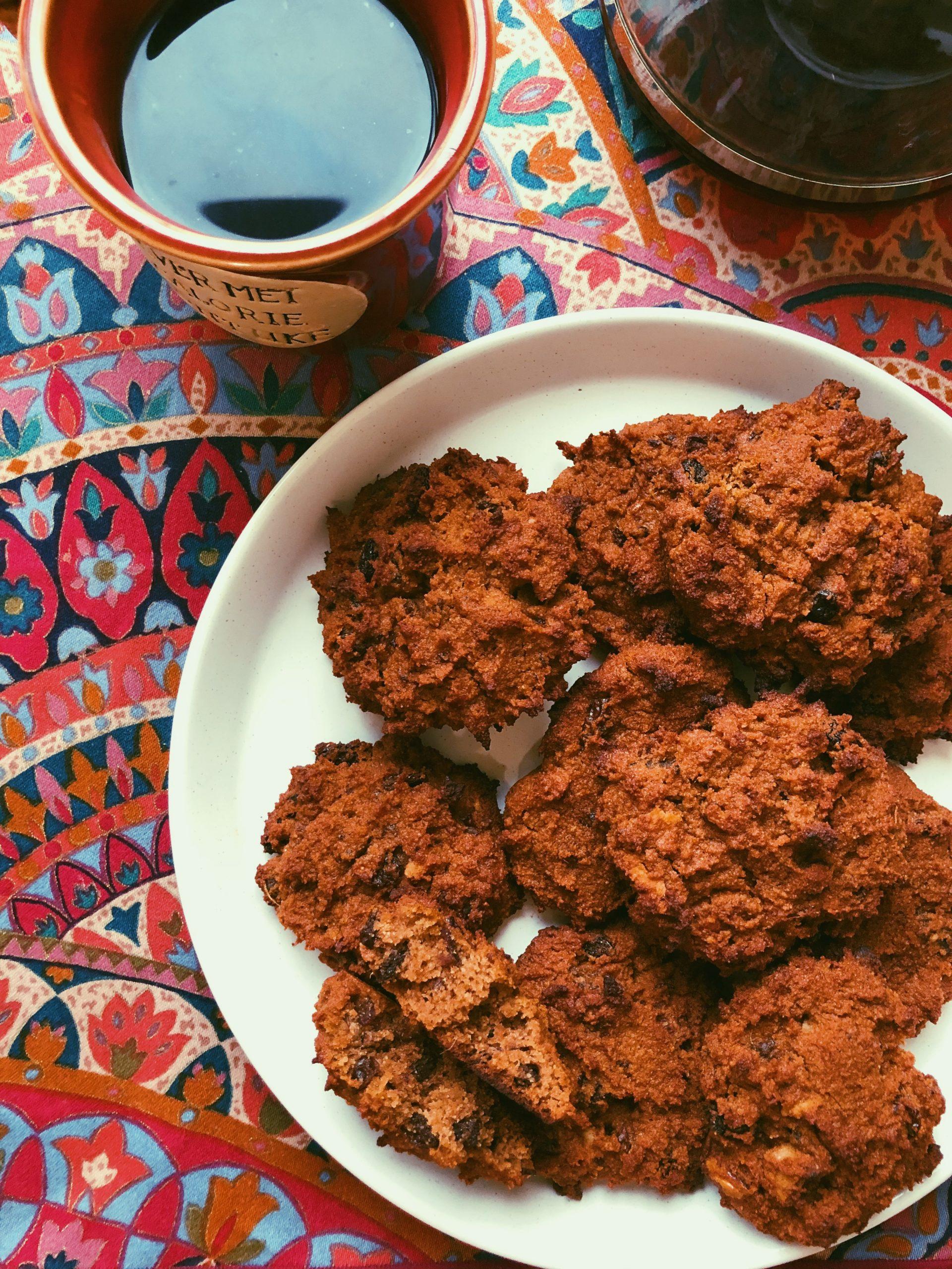 grain free breakfast cookies scd diet