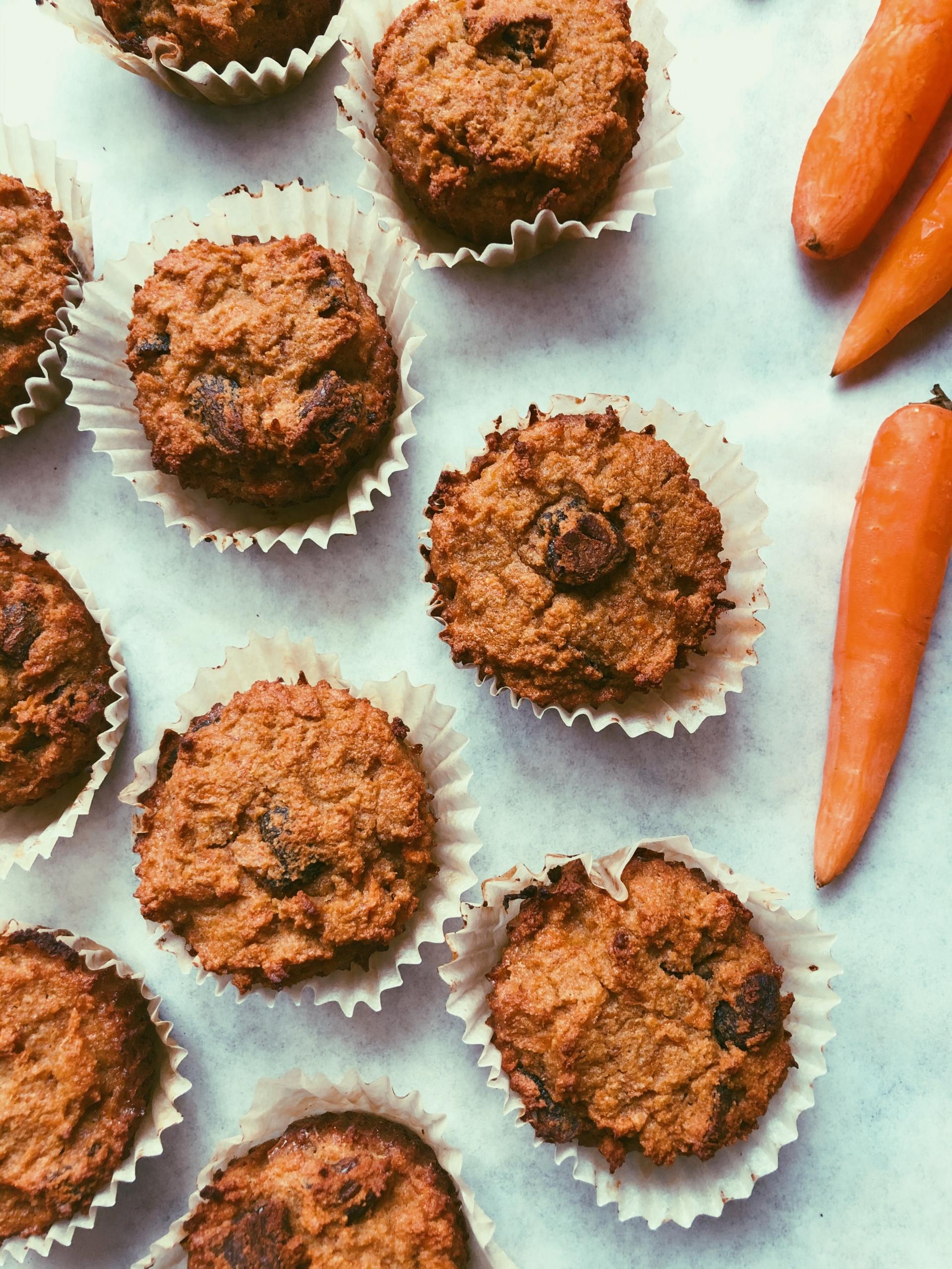 carrot apricot muffins (grain free scd diet)