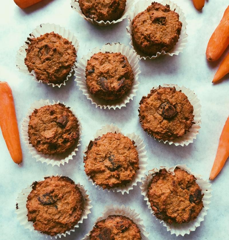 carrot apricot muffins grain free scd diet