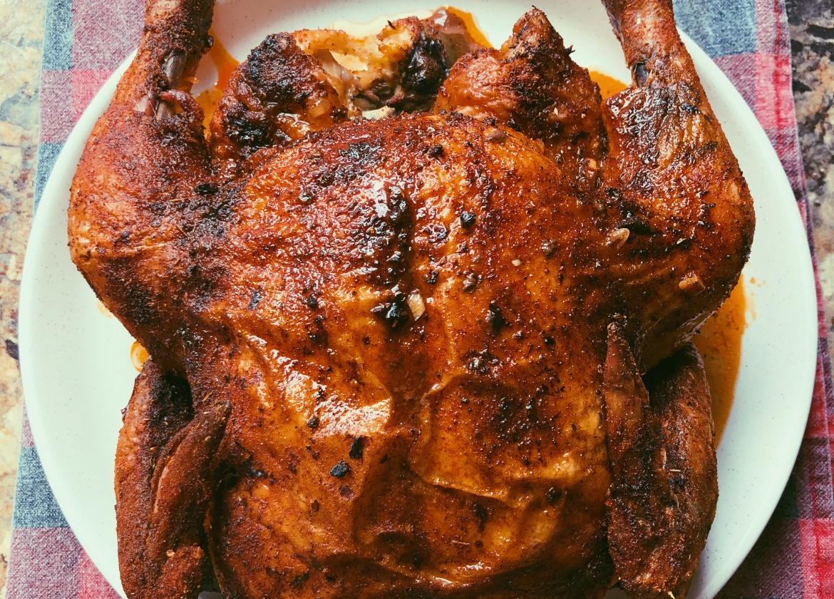 easy whole roasted chicken (scd diet)