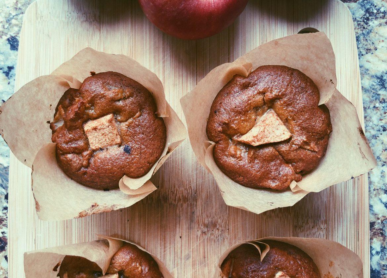 grain free apple chai muffins
