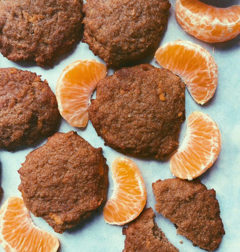 tangerine chai cookies (grain free, scd diet)