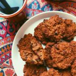 GRAIN FREE PUMPKIN CAKE WITH VANILLA FROSTING