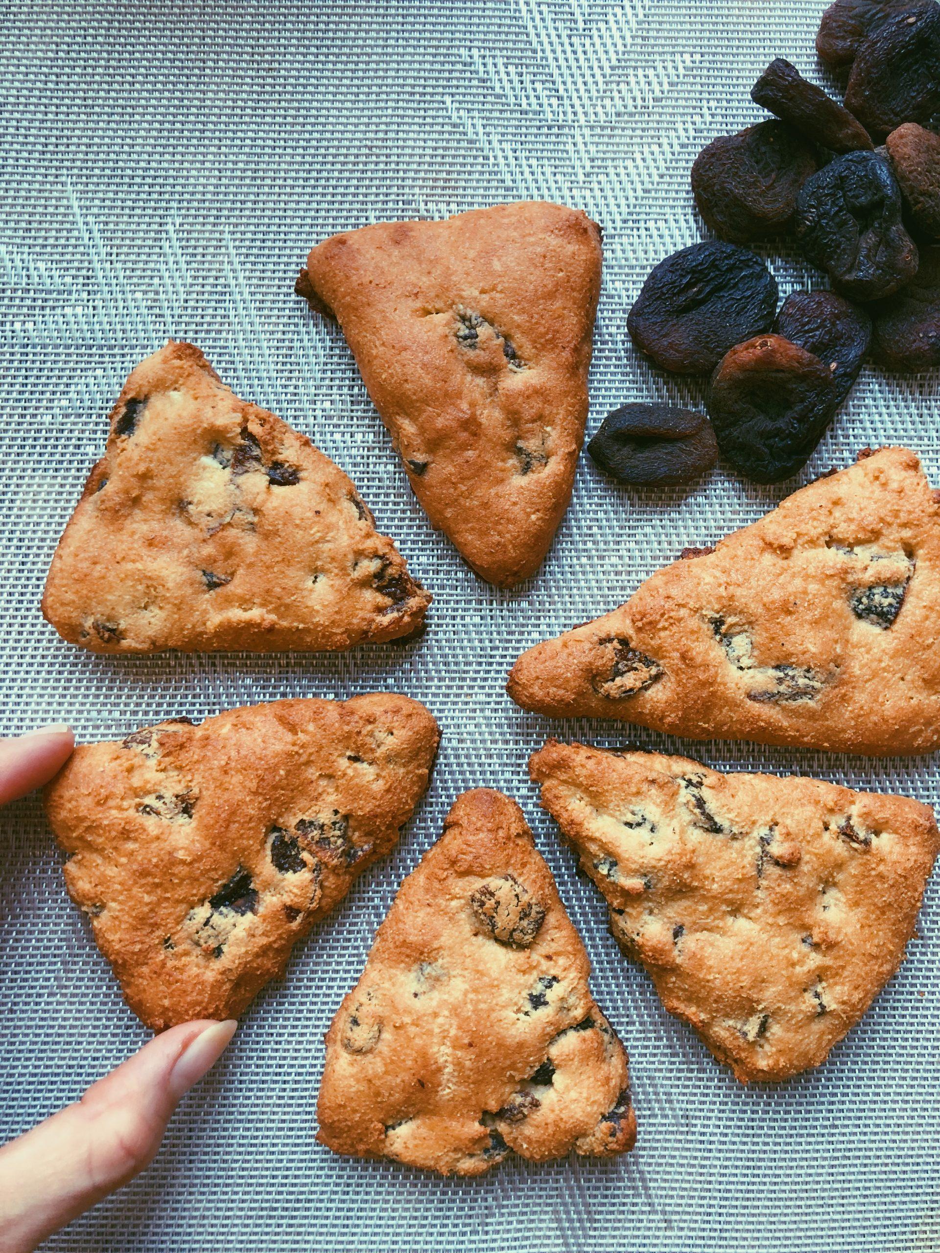 grain free gluten free scones