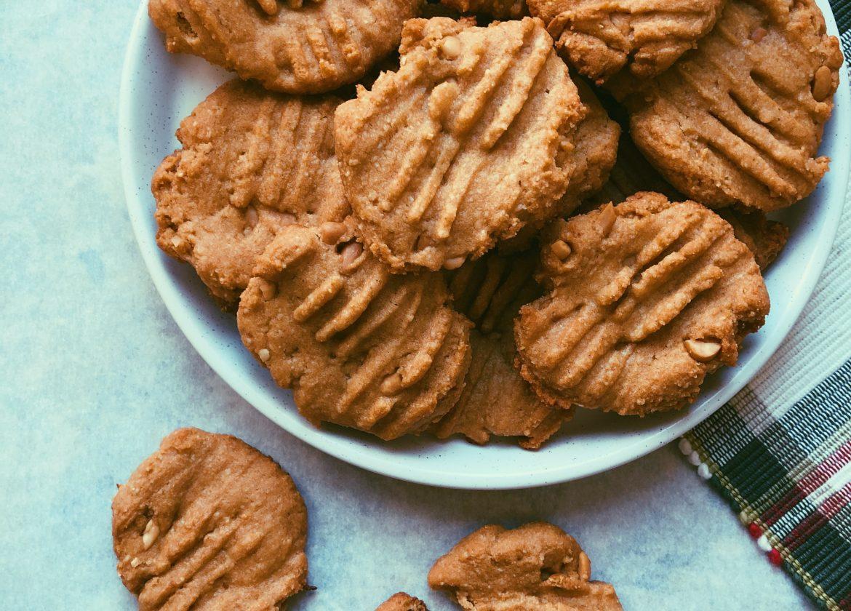 grain free peanut butter cookie