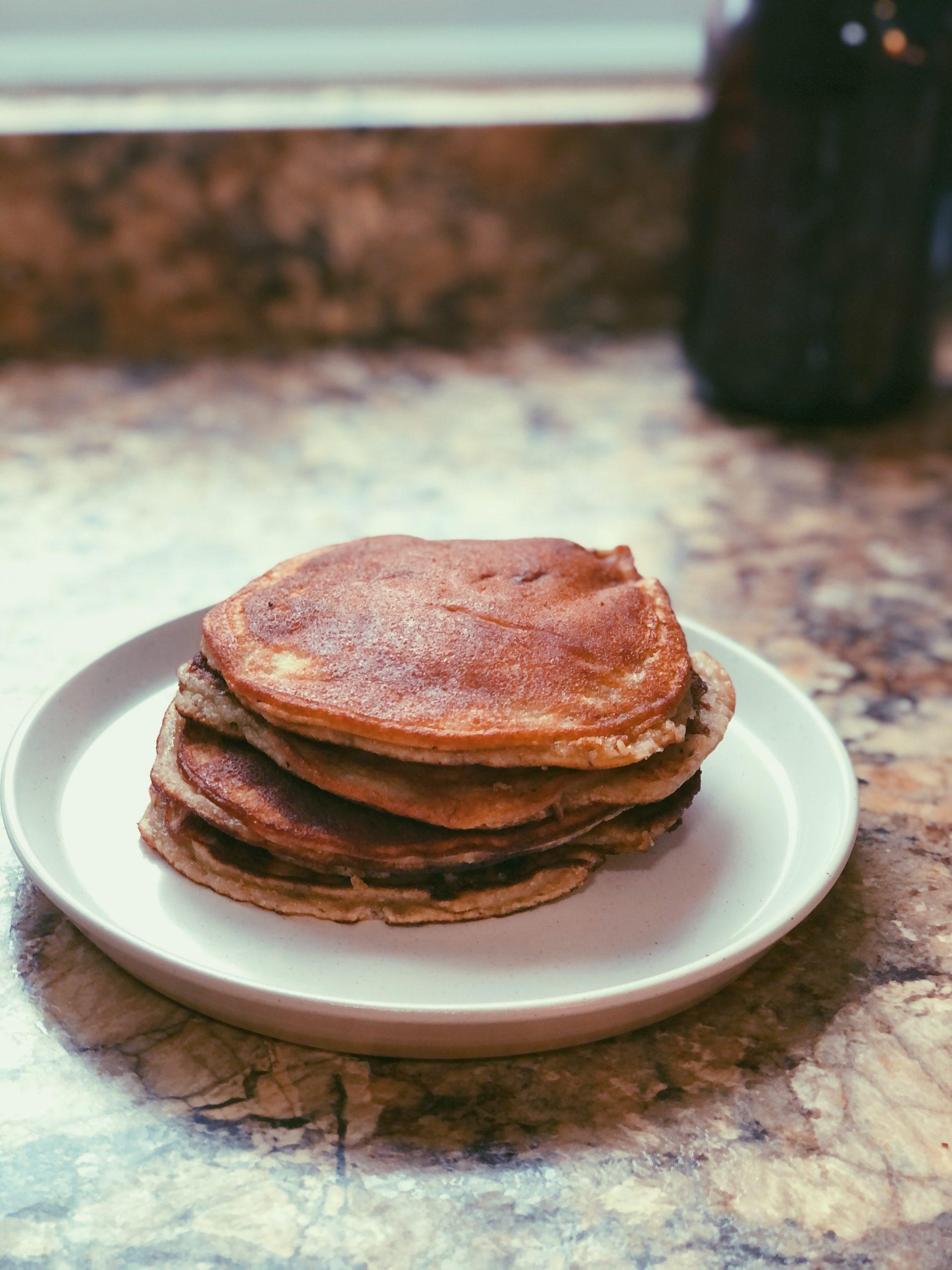coconut flour pancakes, scd diet