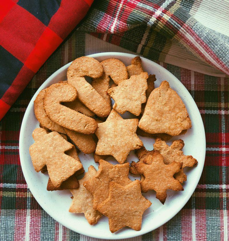 grain free shortbread cookies