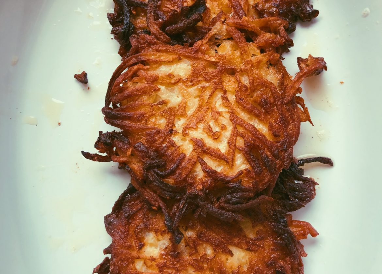 no-potato squash latkes (grain free, scd)