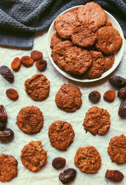 apricot date cookies grain free, scd diet