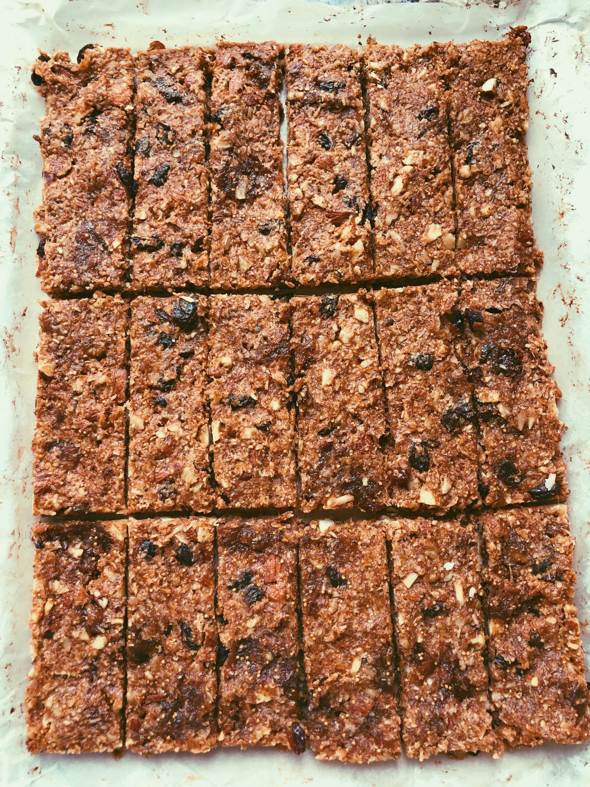 fig & almond granola bars (grain free, scd diet)