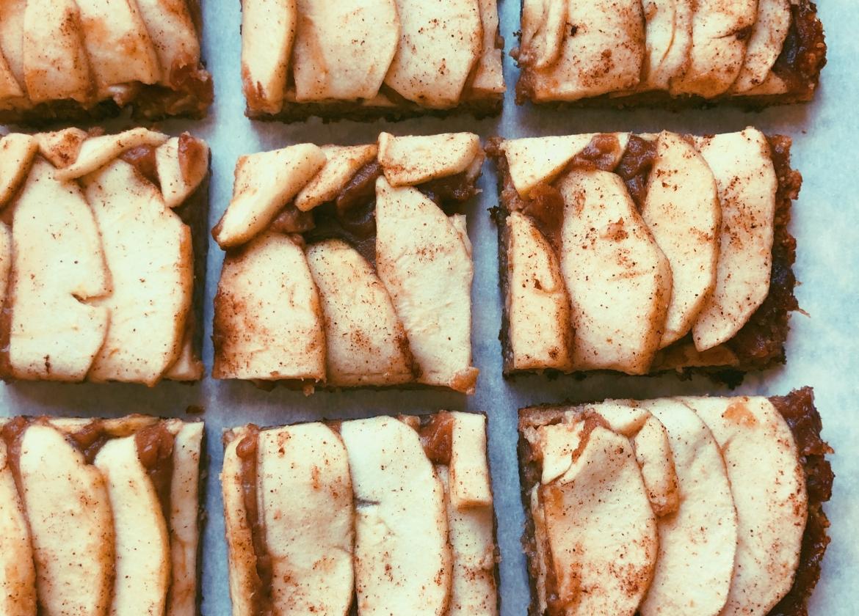 apple caramel squares grain free scd diet