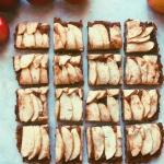 apple caramel squares
