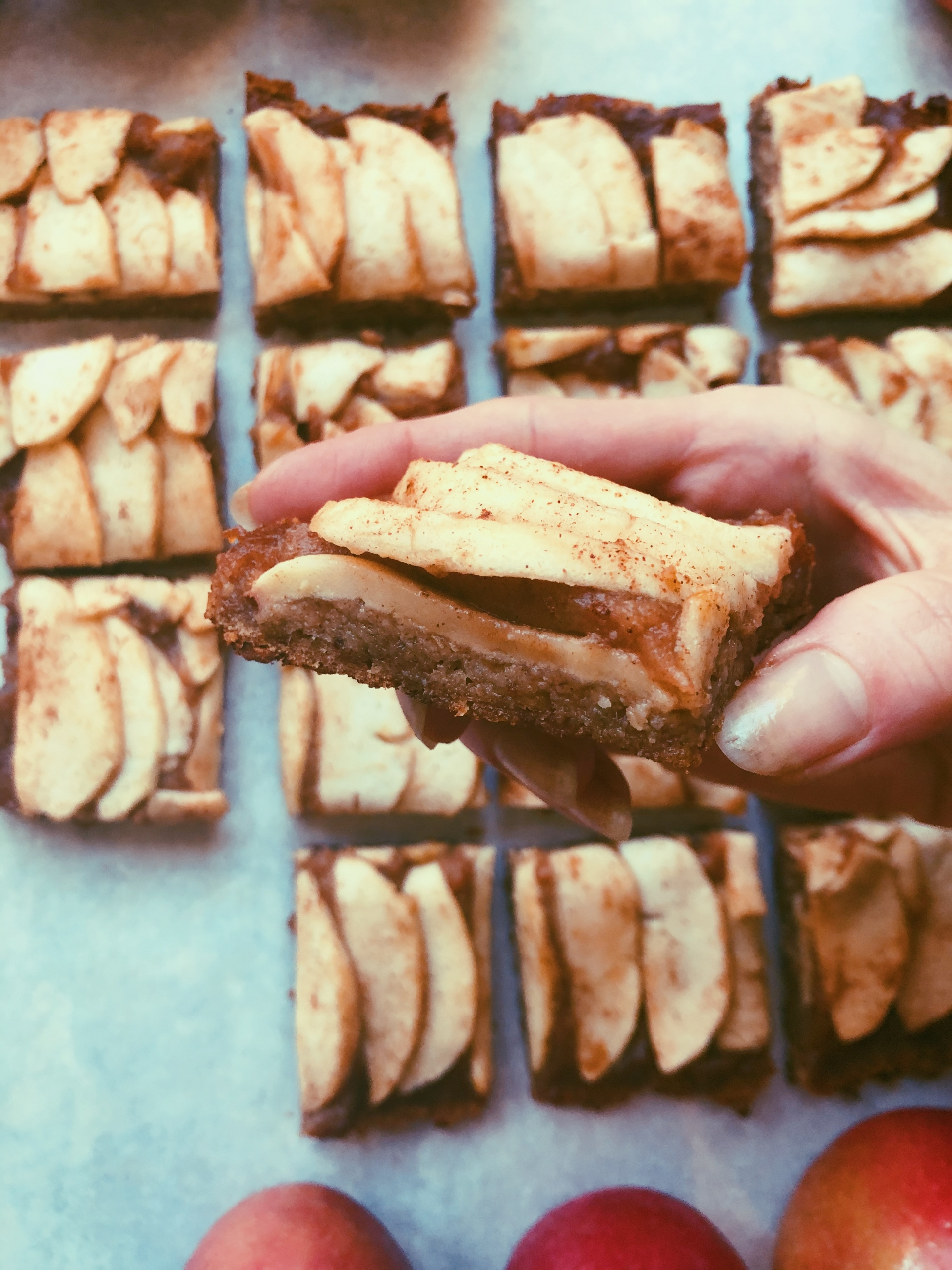 apple caramel bars grain free scd diet