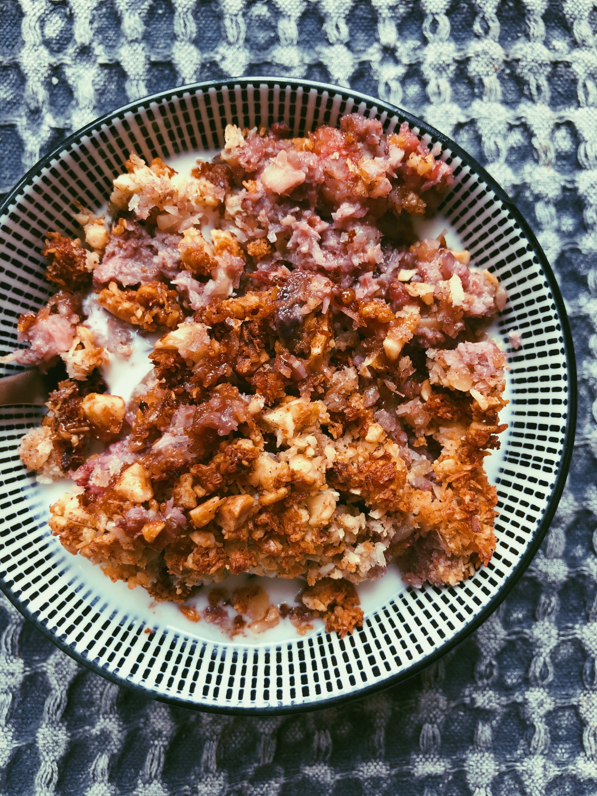 peach-strawberry cobbler (grain free, scd diet)