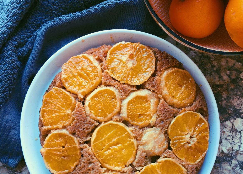 orange upside down cake grain free scd diet