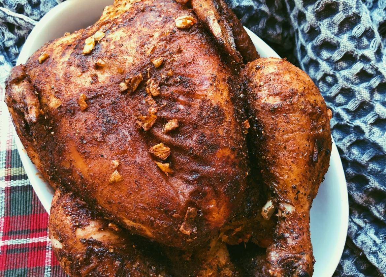 air fryer whole roasted chicken (grain free, scd diet)