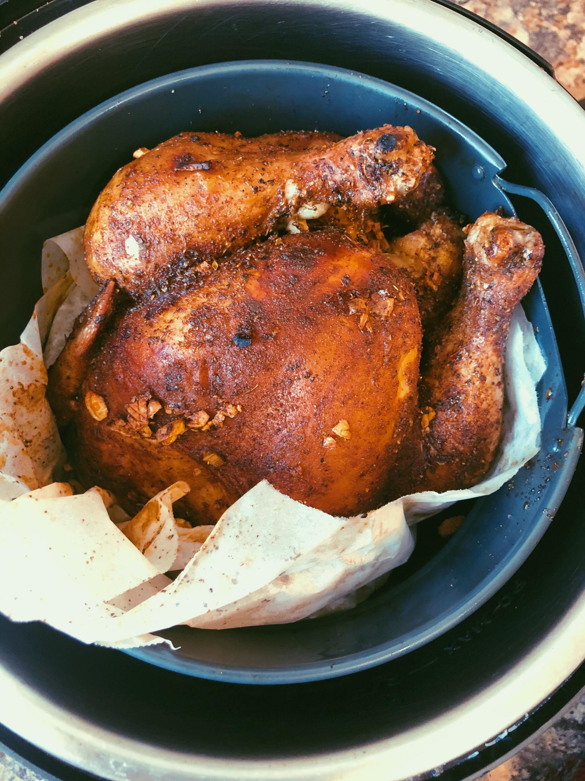 air fryer whole roasted chicken grain free, scd diet