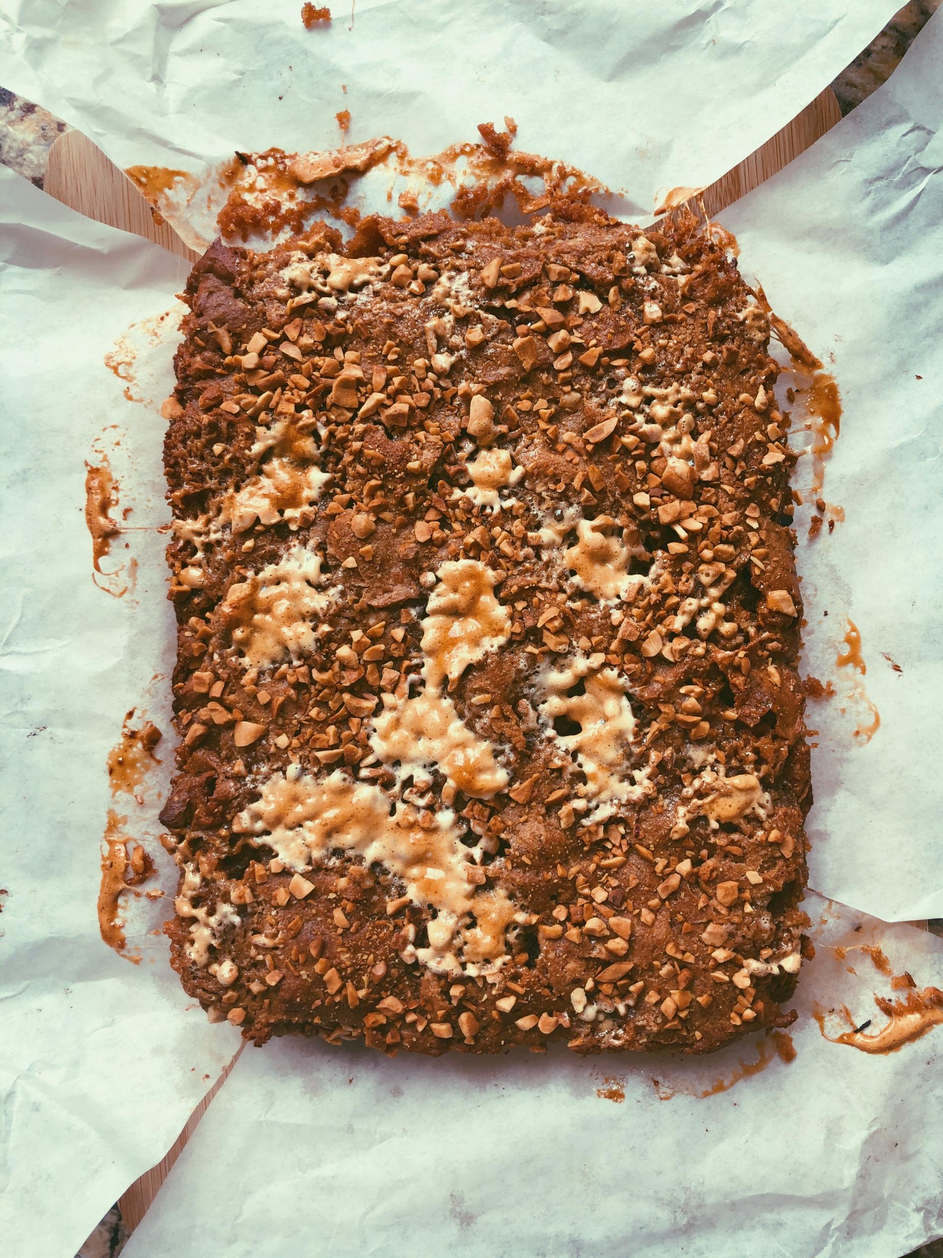 peanut butter marshmallow blondies grain free, scd diet