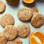 orange poppyseed cookies