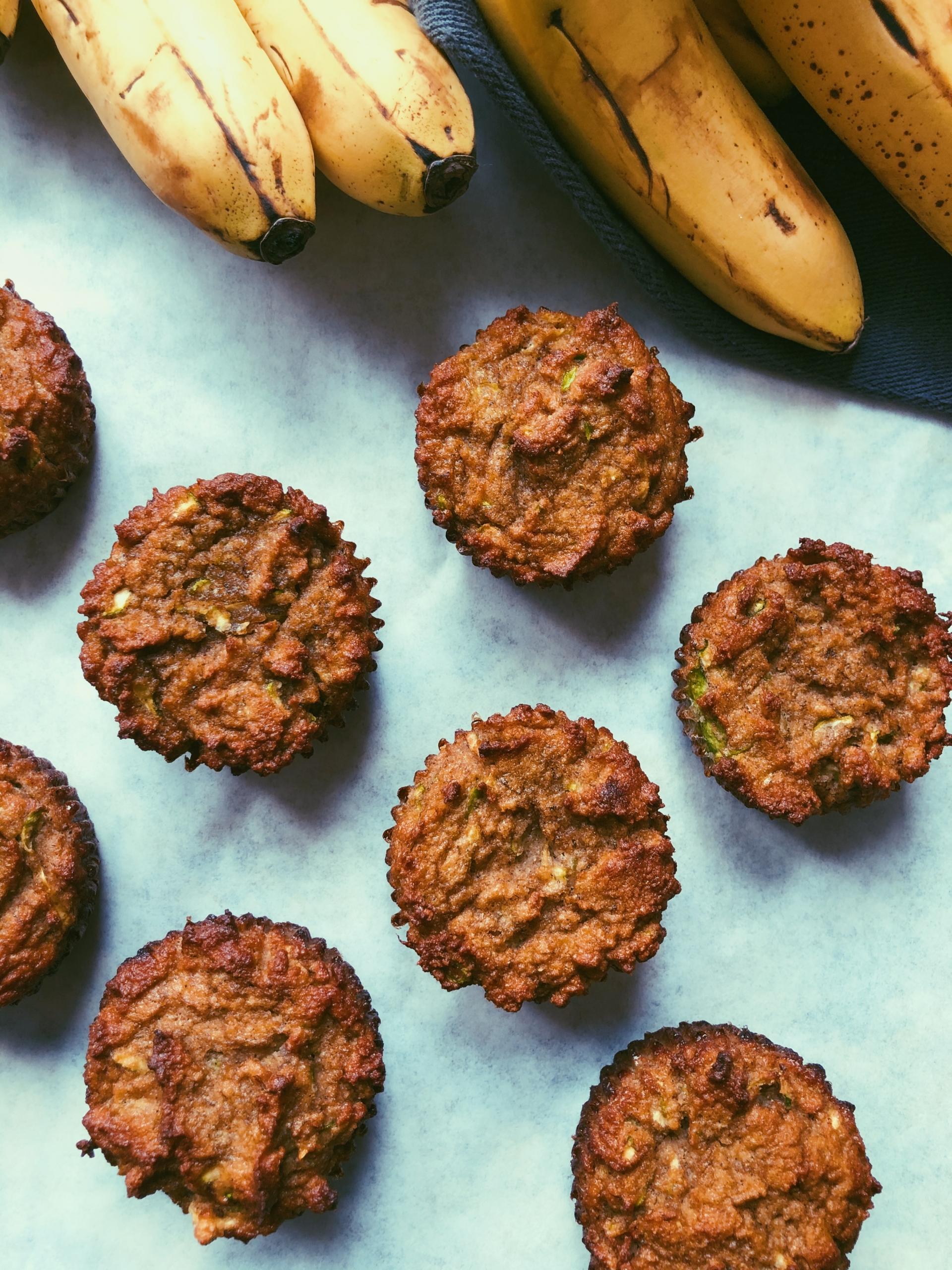 banana zucchini muffins grain free scd diet