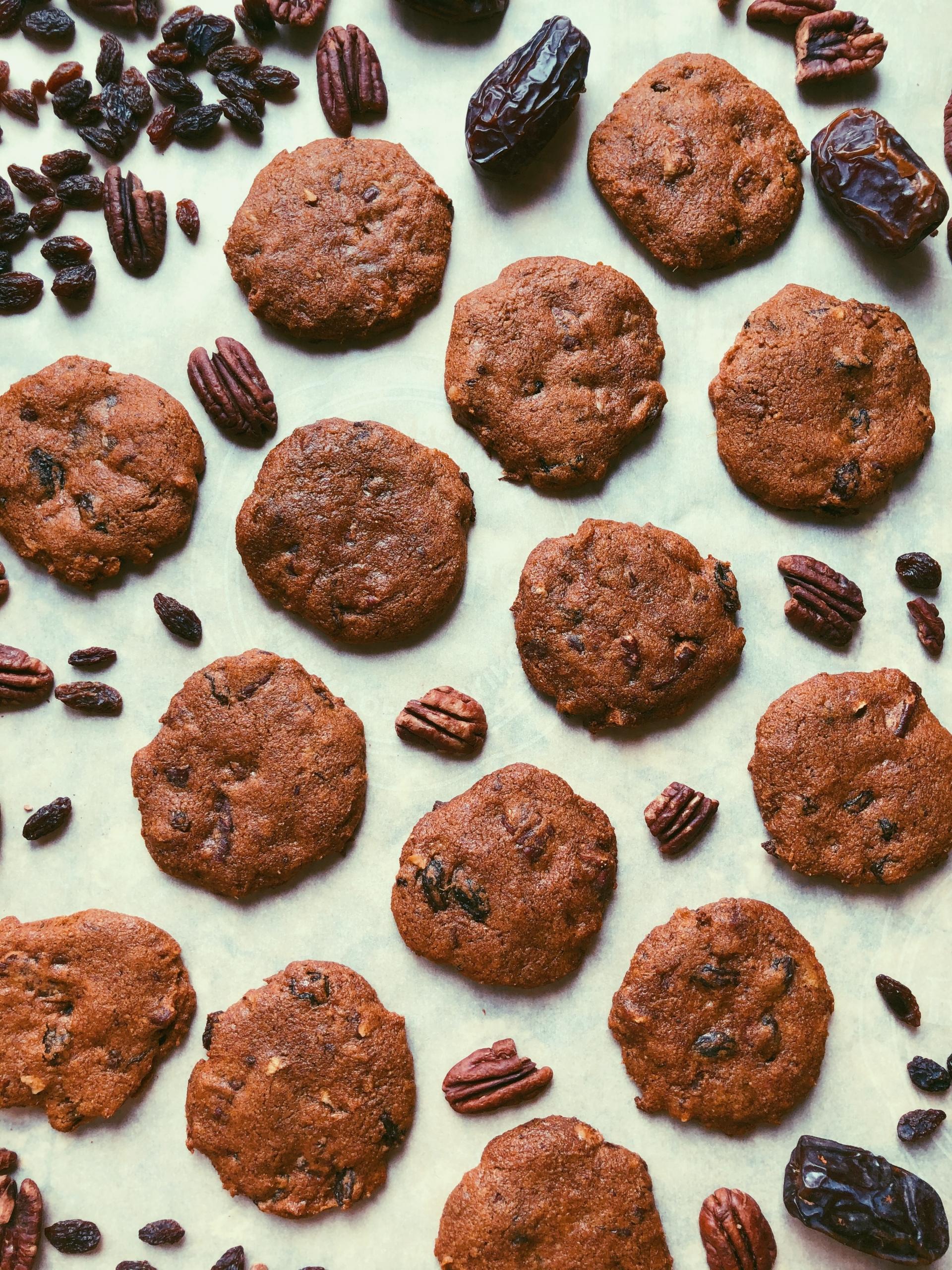 molasses monster cookies, grain free, scd diet