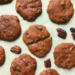 molasses monster cookies with coconut flour