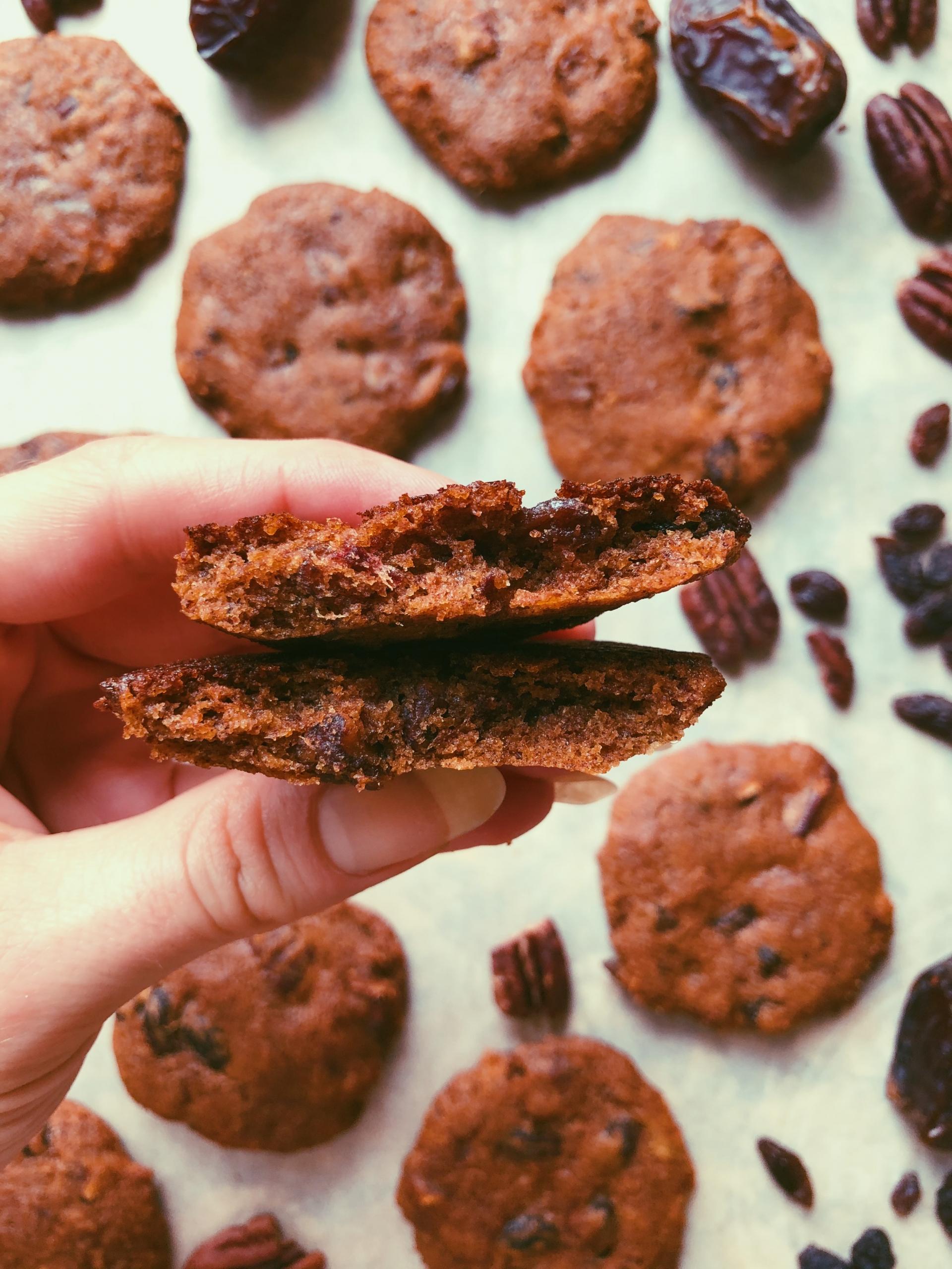 molasses monster cookies grain free, scd diet