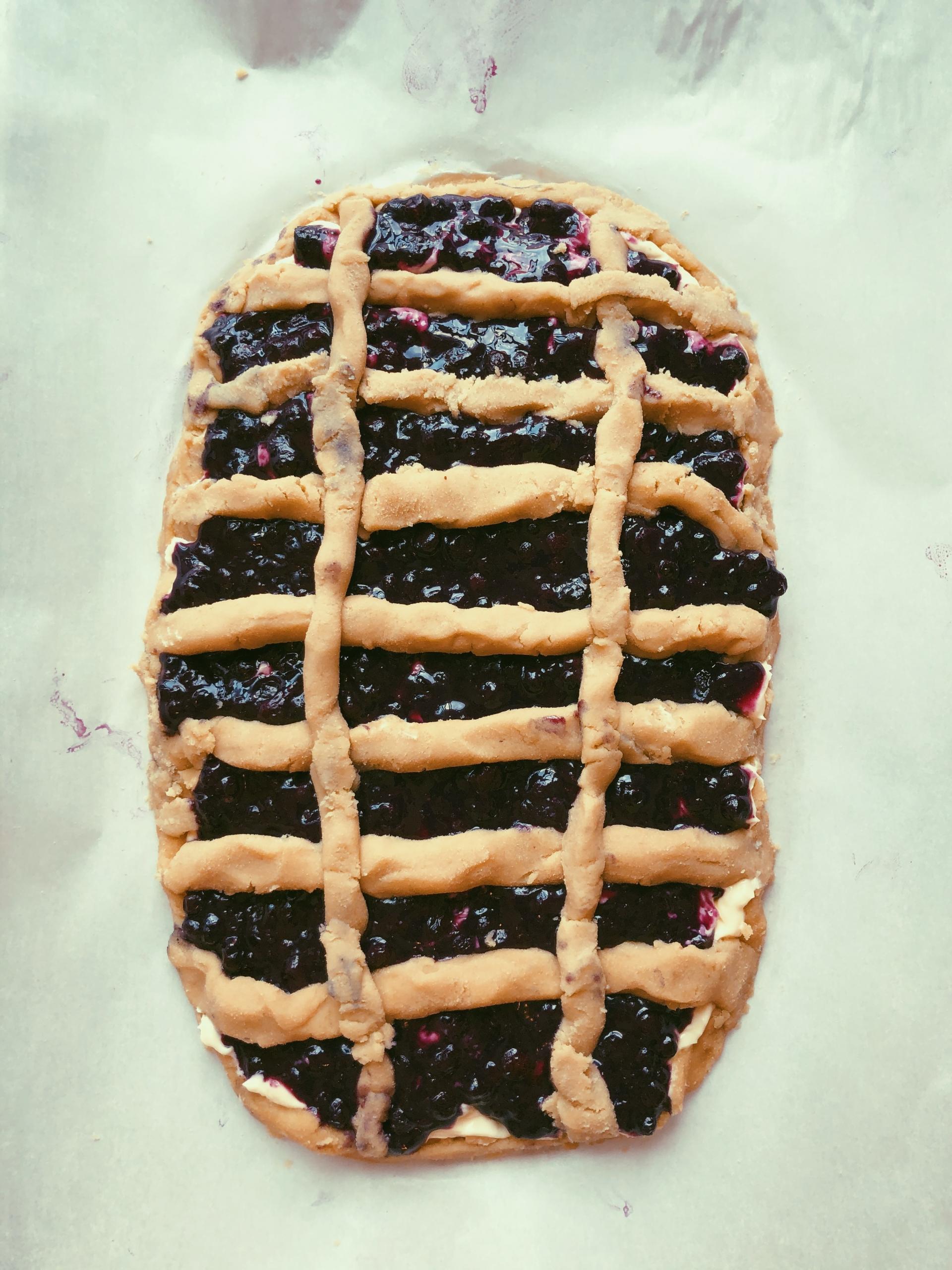 BLUEBERRY CREAMCHEESE DANISH (GRAIN FREE, SCD DIET)