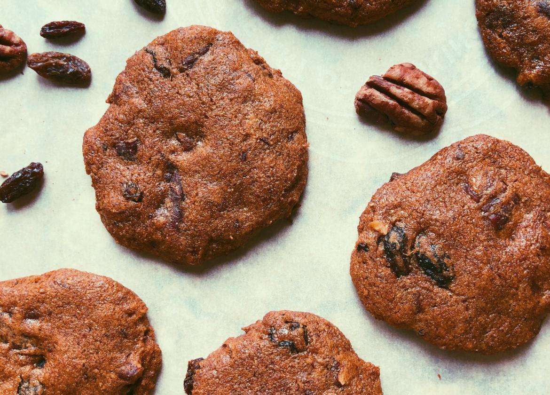 molasses monster cookies with coconut flour, grain free, scd diet